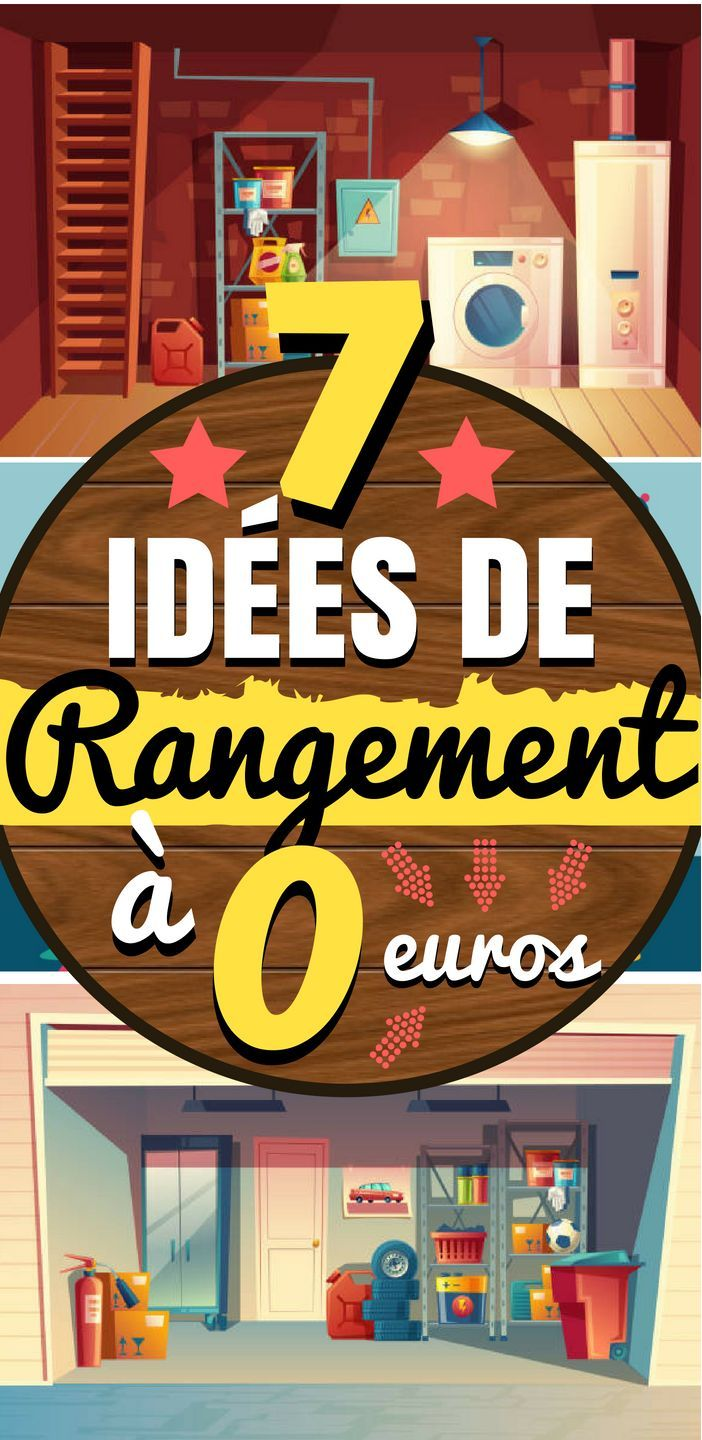 7 id es de rangement simples a 0 euros bricolage pinterest organizations and craft. Black Bedroom Furniture Sets. Home Design Ideas