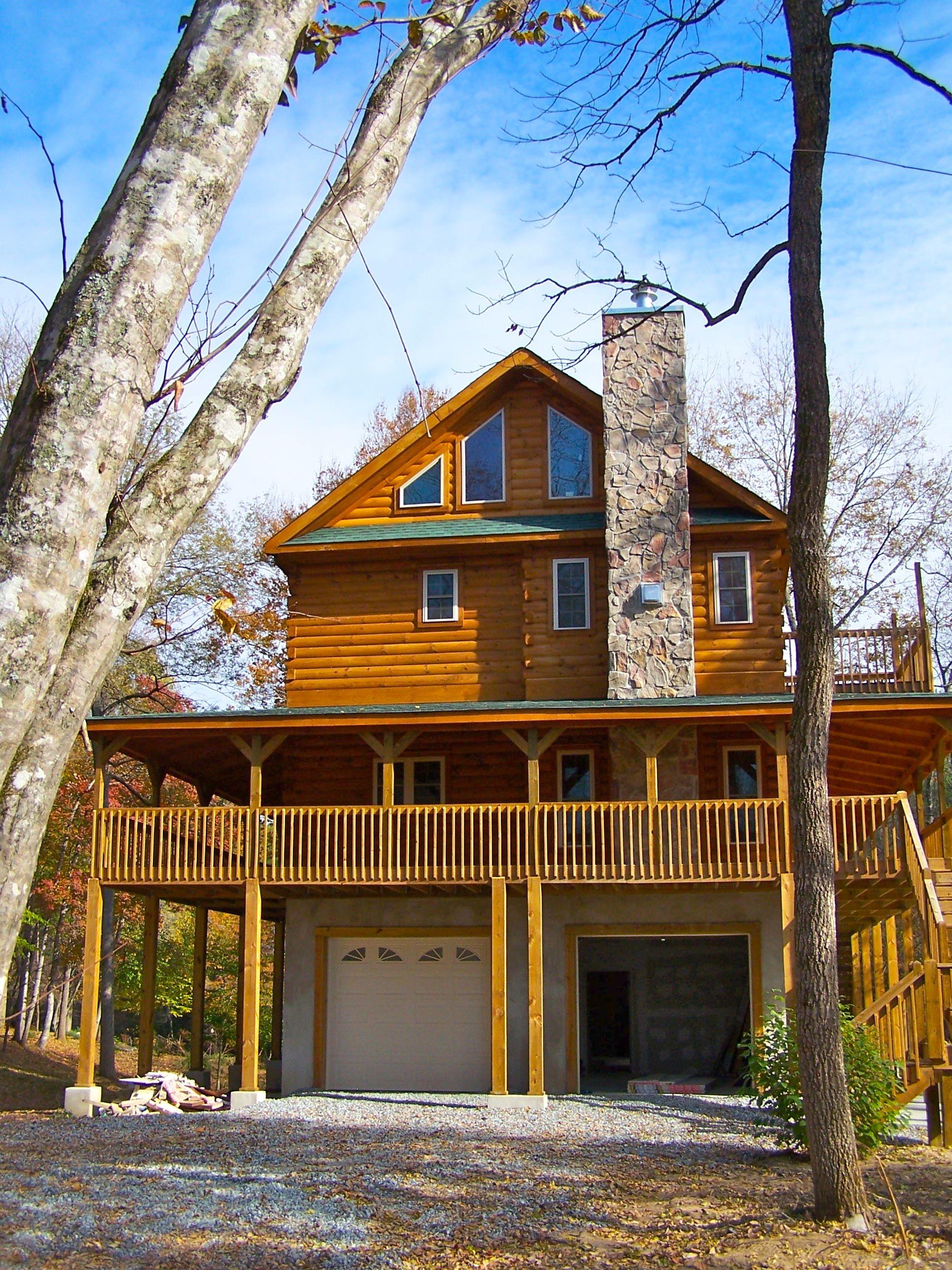 Savannah Log cabin Series by Blue Ridge Log Cabins loghome