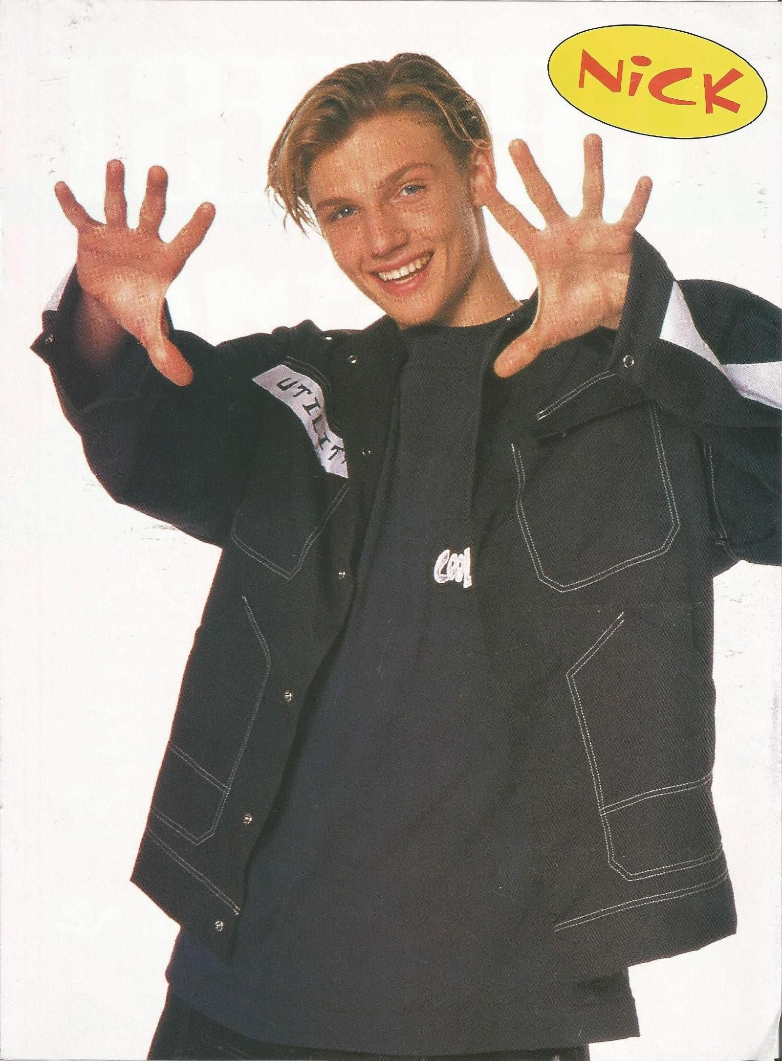Think, that Nick carter sexy cover