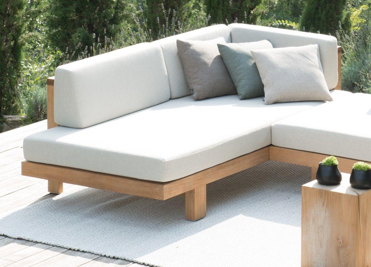 Tribu Pure Corner Garden Sofa Garden Sofa Contemporary Garden Furniture Modern Outdoor Sofas
