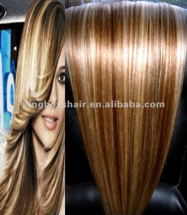 Two Tone Hair Color Two Tone Color Brazilian Remy Human Hair