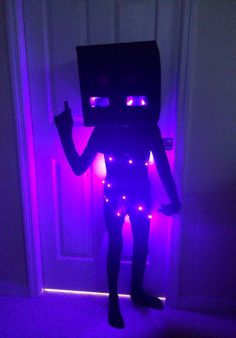 Jacks Minecraft Enderman Costume Minecraft Halloween