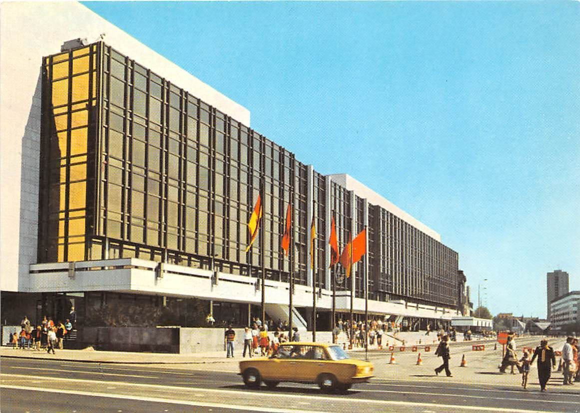 Berlin. Palast der Republik