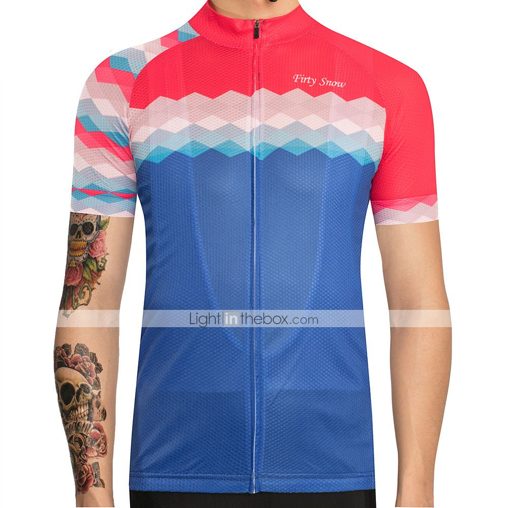 Mens Cycling Jersey Short Sleeve Bike Road Bicycle Shirt Top 2020 New Breathable