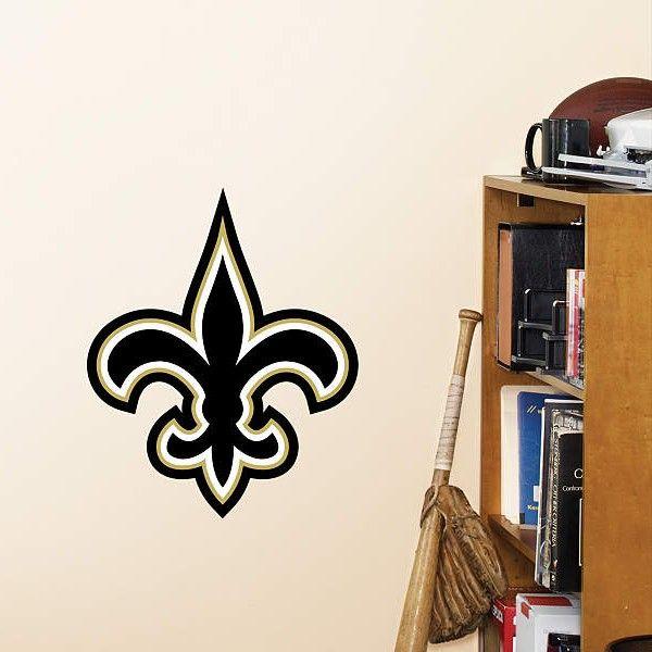 New Orleans Saints Fathead Teammates Fleur-de-Lis Logo Wall Decal ...