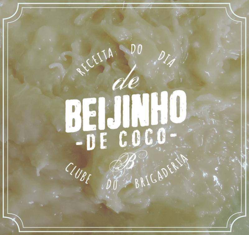 Receita de Beijinho de Coco Gourmet