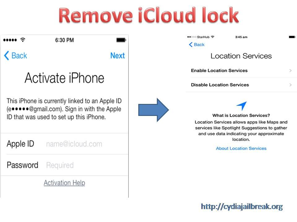 Remove iCloud lock for free [download links] http