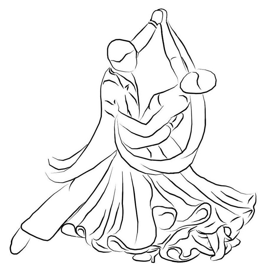 Quilling Line Art : Line art dancers great quilling idea