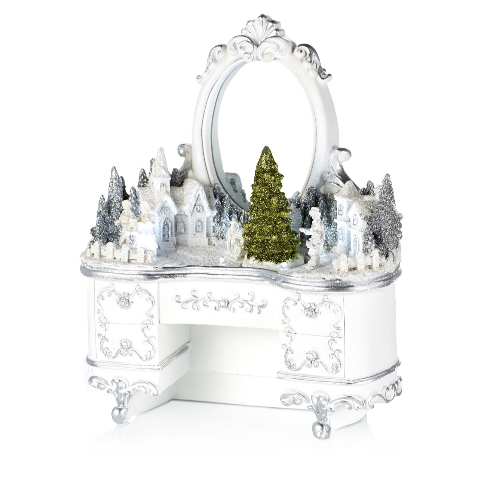 705758 - Home Reflections Winter Wonder Furniture Village with LED ...