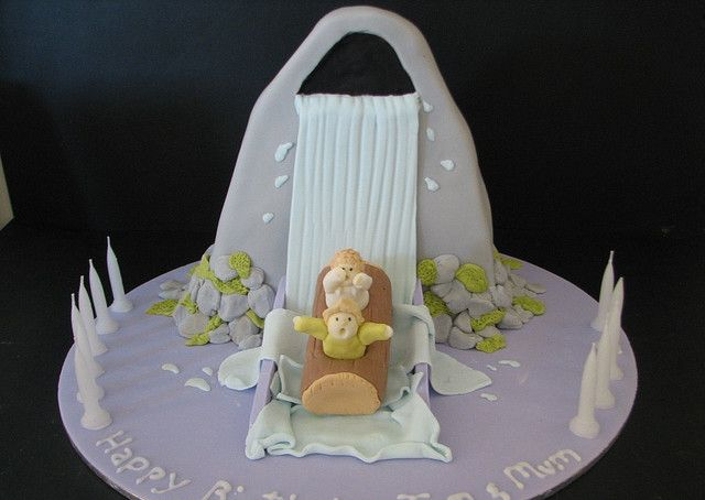 Waterride Cake by phillipascakes, via Flickr