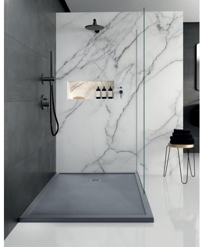 Limit 1200 X 800 Shower Tray Anthracite With Free Shower Waste Stylish Bathroom Bathroom Interior Design Small Bathroom