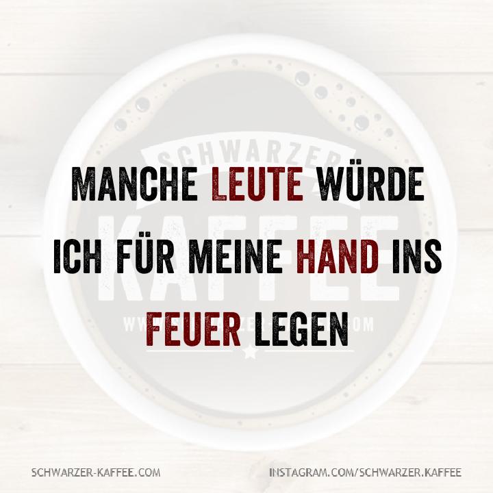 FÜR MEINE HAND – Schwarzer Kaffee