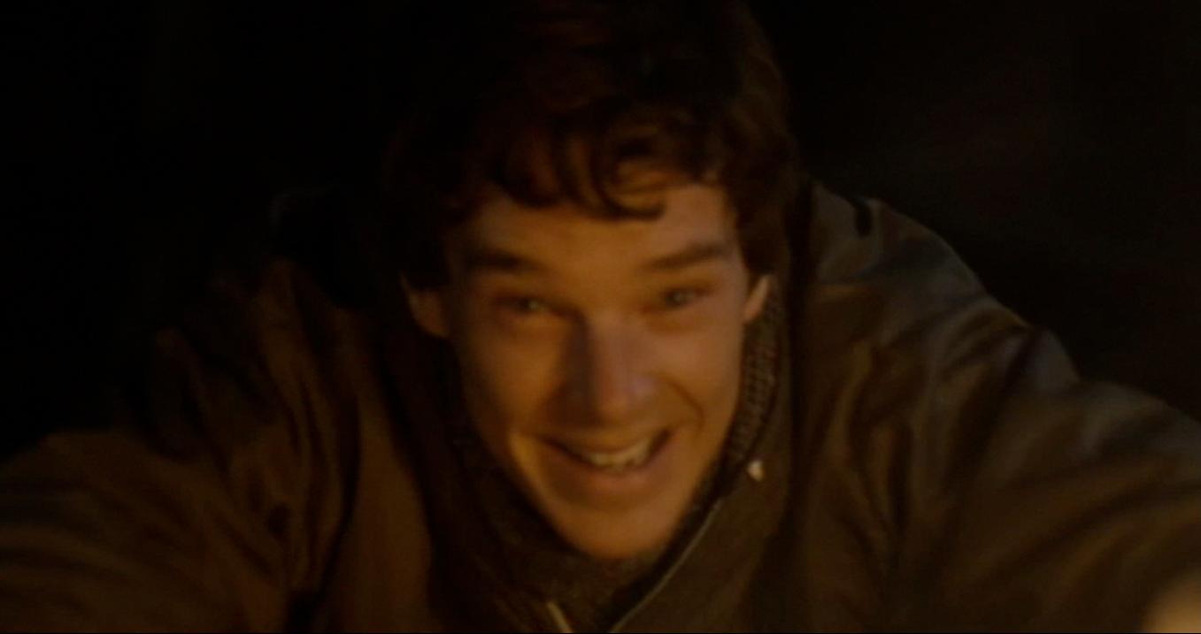 "Third Star - Benedict Cumberbatch - ""Waft!  Waft!"""