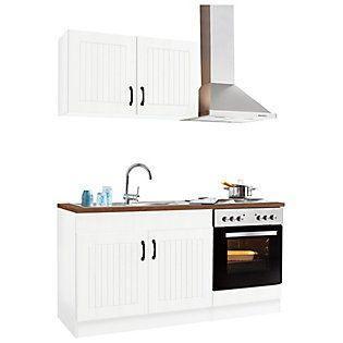 Küchenzeile »Athen«, mit EGeräten, Breite 160 cm auf