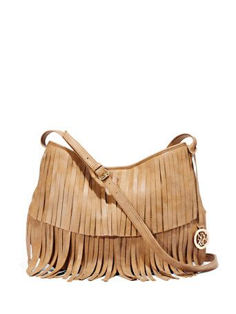 Shop Faux-Suede Fringe Bag . Find your perfect size online at the best price at New York & Company.