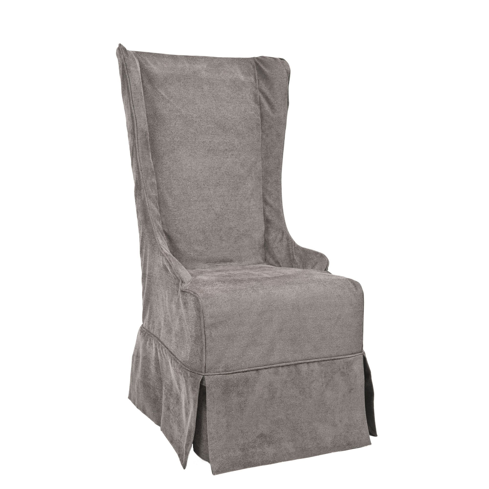 Add Simple And Eye Catching Style To Your Living Space With This  Slipcovered Side Chair