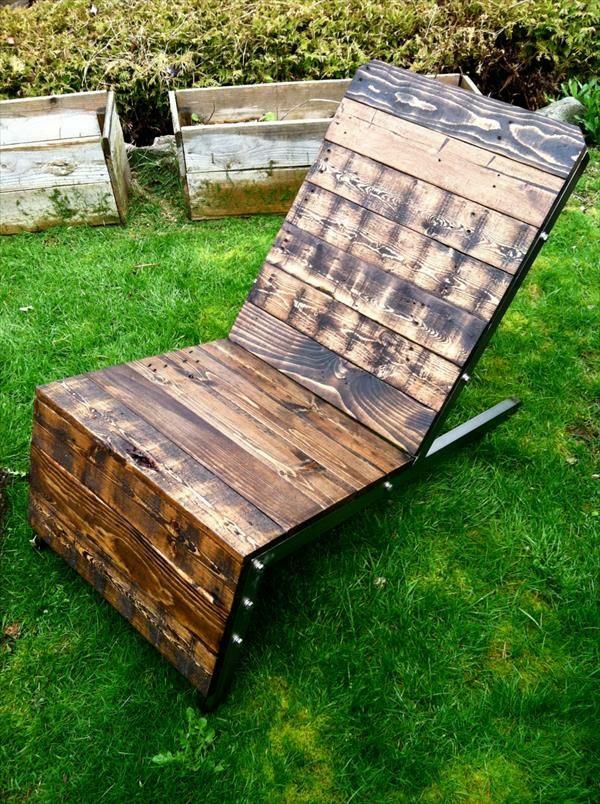 DIY Möbel aus alten Paletten lounge garten Projects to Try Pinterest