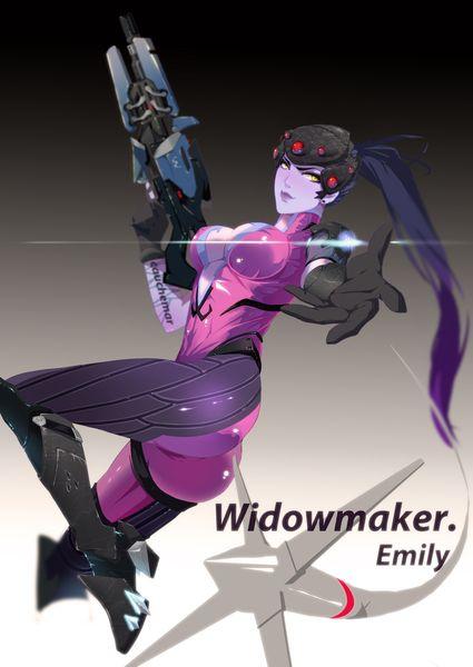 Widowmaker(Overwatch)/葉子