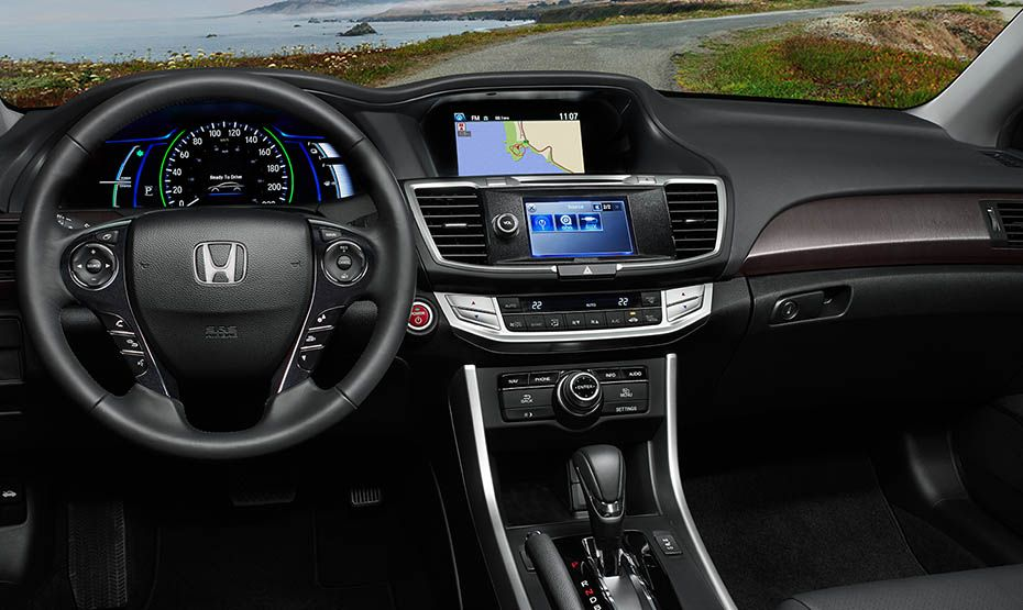 2015 Honda Accord Hybrid Honda accord, Honda sedan