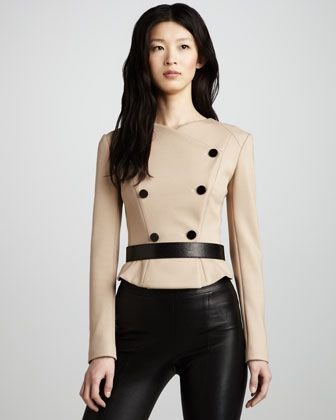 Ponte Riding Jacket by Robert Rodriguez at Neiman Marcus.