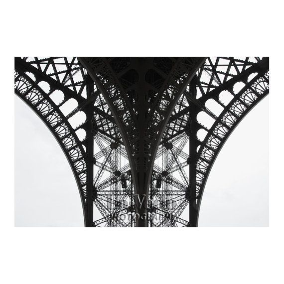 Eiffel Tower Photo Paris France Black and White B by LoVedoArt, $108.00