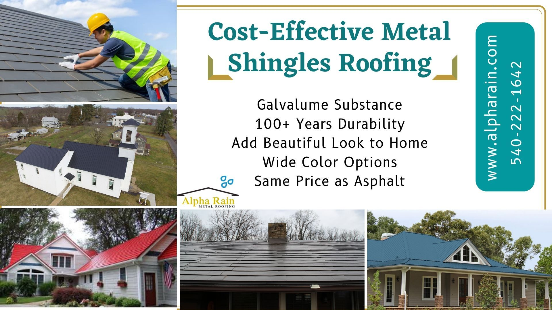 Permanent Metal Roof Shingles Same Cost As Asphalt In 2020 Metal Shingle Roof Roof Shingles Shingling