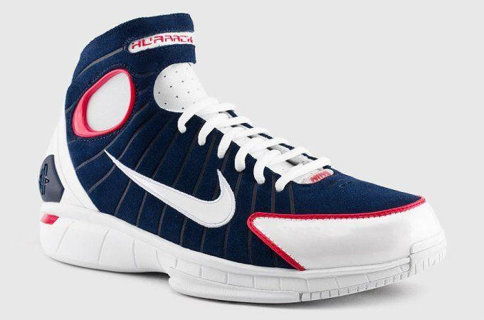 Nike Air Zoom Huarache 2K4 Midnight NavyWhite University