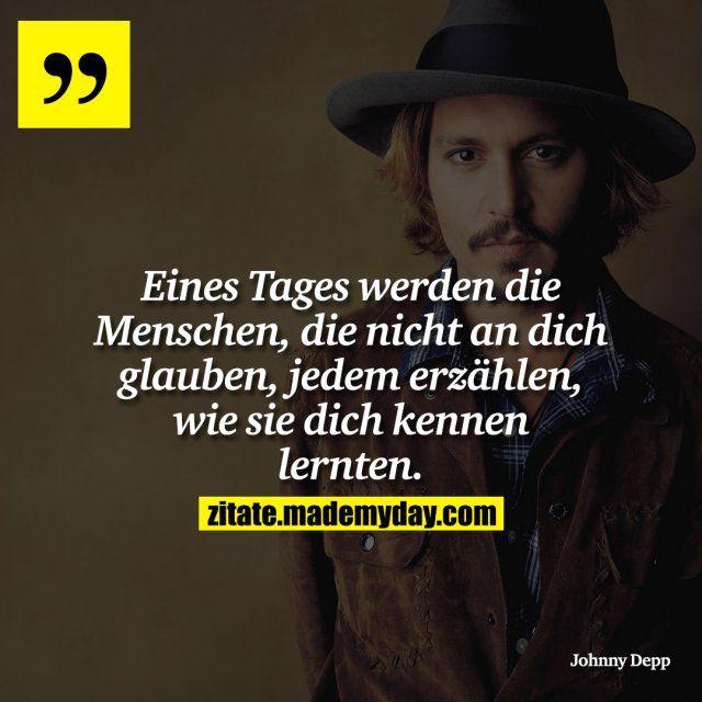 Schön währs :/ | Deutsch | Quotes, Johnny depp quotes und Words quotes