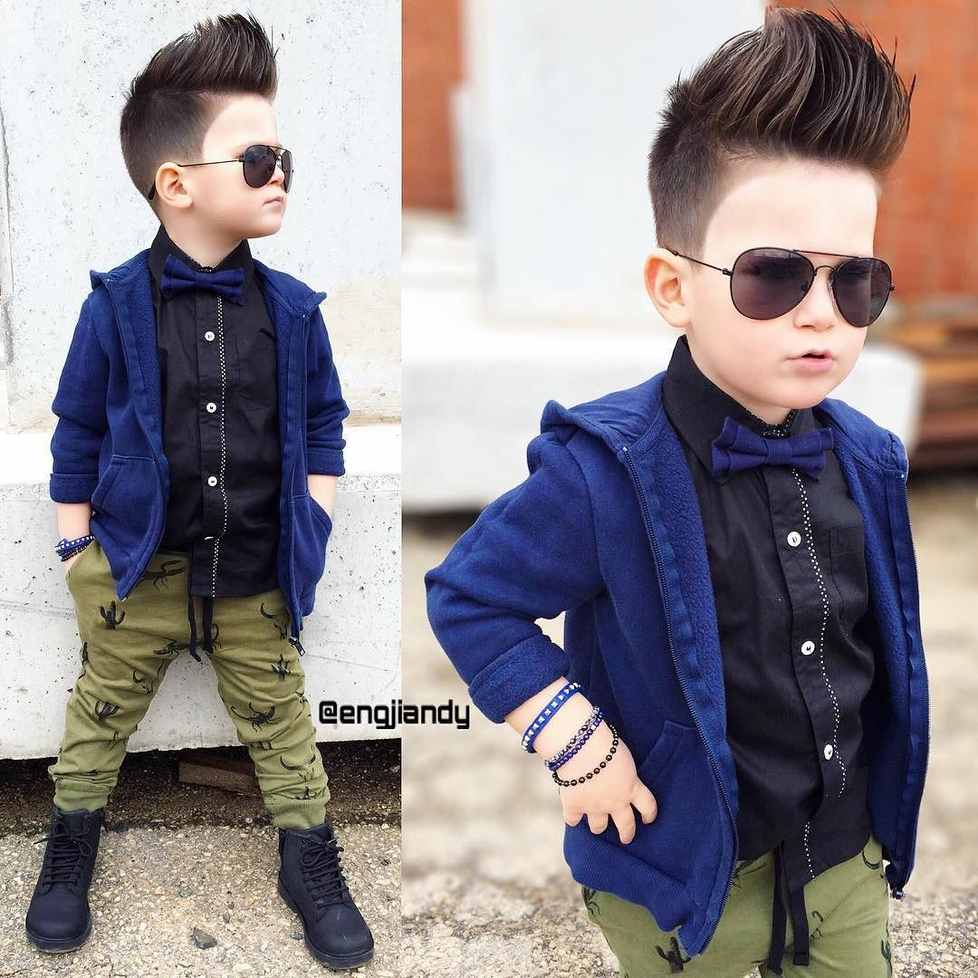 Kid Haircuts With Outfit: Toddler Boy Outfits & Haircuts