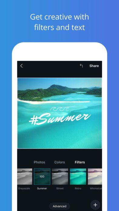 تطبيق Canva لتصميم صور إبداعية للأيفون نيوتك New Tech Color Filter Photo Colour Grayscale