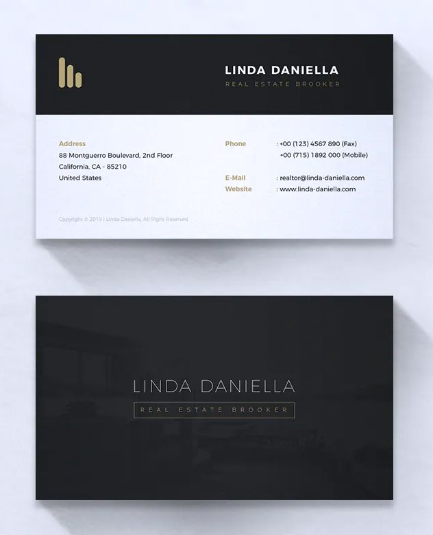 Minimalist Business Card Vol 14 By Rahardicreative On Envato Elements Minimalist Business Cards Business Card Template Cards