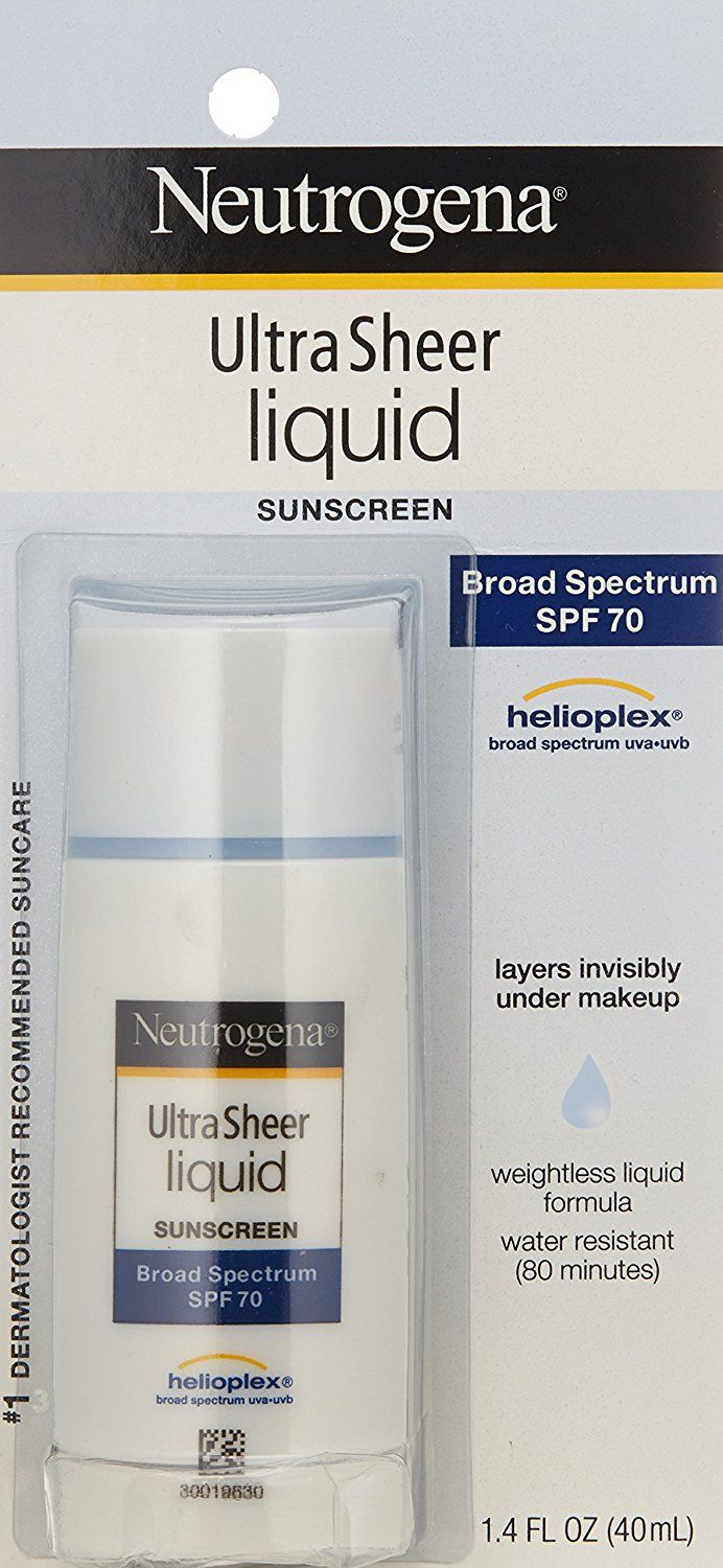 Neutrogena Ultra Sheer Liquid Daily Sunscreen