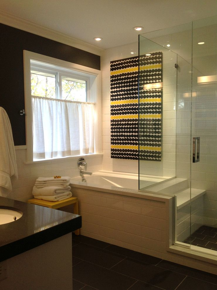 Kohler Greek Tub Bathroom Transitional With Caesar Stone Chrome Faucet Bathrooms Remodel Contemporary Bathrooms Bathroom