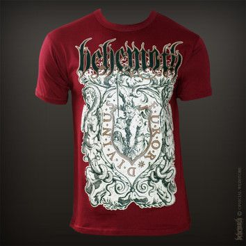 Official T Shirt BEHEMOTH Logo Metal FUROR DIVINUS Black All Sizes