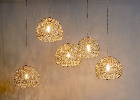 Clearance Sale 50 Off 5 Metal Pendant Lights For The Dining Room