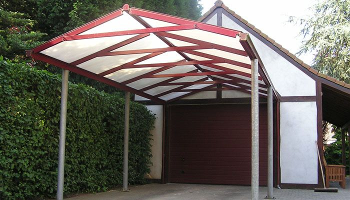tropic carport | Autotalli | Pinterest