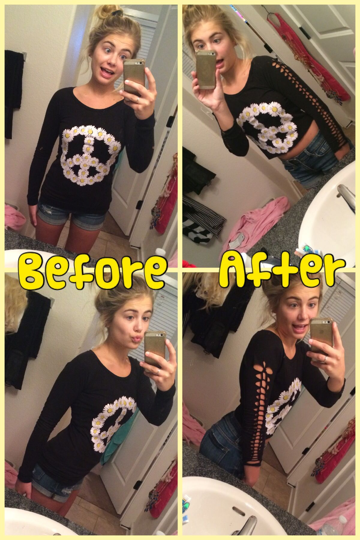 Pin By Demi Burnett On Diy Pinterest Crop Top Tumblr And Clothes