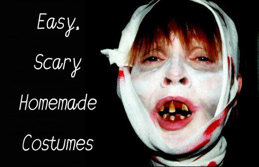 Easy and Scary Homemade Halloween Costumes