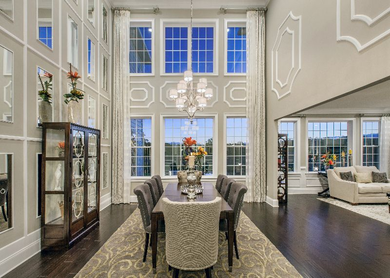 Toll brothers reserve at northampton pa dining rooms for Dining room northampton