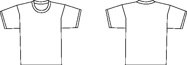 Ymmoussitu T Shirt Template Back