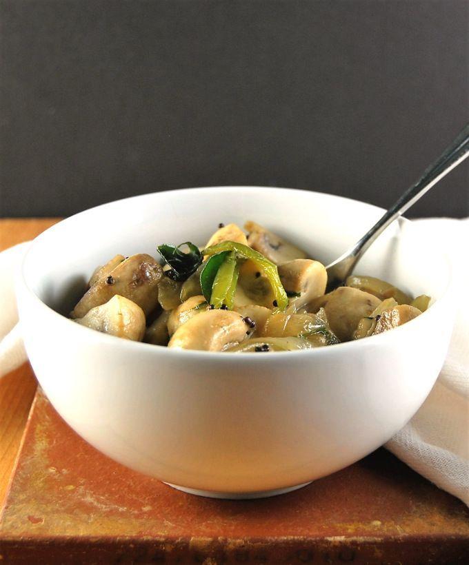 10 Minute Stir Fried Mushrooms