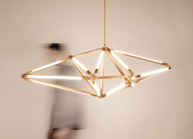 Sculptural Geometric Lighting By Bec Brittain Disenos De Unas Iluminacion Bar Interior
