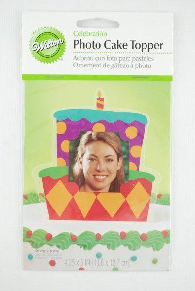 photo cake topper frame- celebrate Case of 504