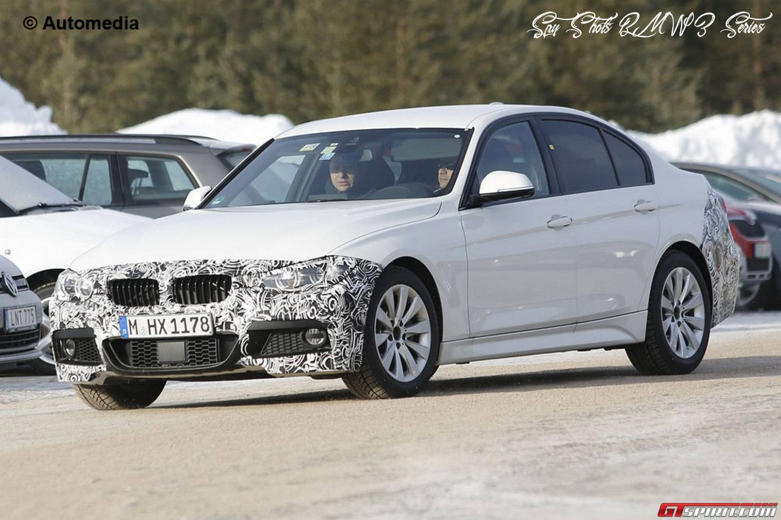 Spy Shots BMW 3 Series Performance and New Engine