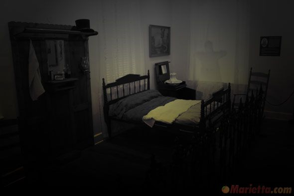 inside a haunted house haunted places in marietta ga