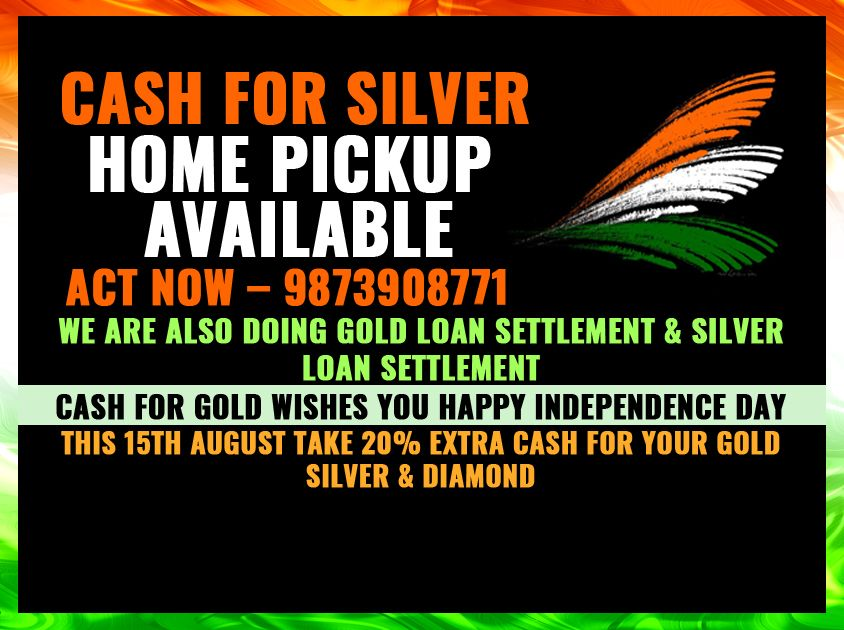 Today Gold Rate In Delhi Ncr Is 32000 10 Gram And Silver 42000 Kg Cash For ñ Ers That Offer A Exchange Service