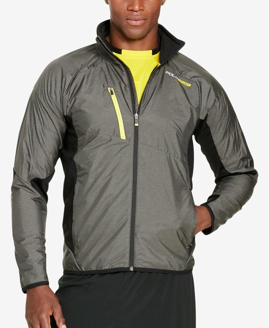 Polo Sport Men's Hybrid FullZip Jacket