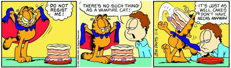Vampire Cat Vampire Comic Comic Strips Fun Comics