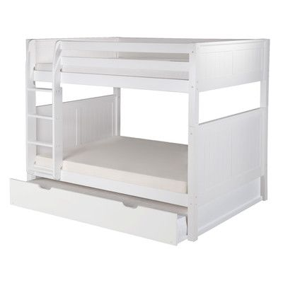 You'll love the Traditional Camaflexi Full over Full Bunk Bed with Trundle at Wayfair - Great Deals on all Baby & Kids  products with Free Shipping on most stuff, even the big stuff.