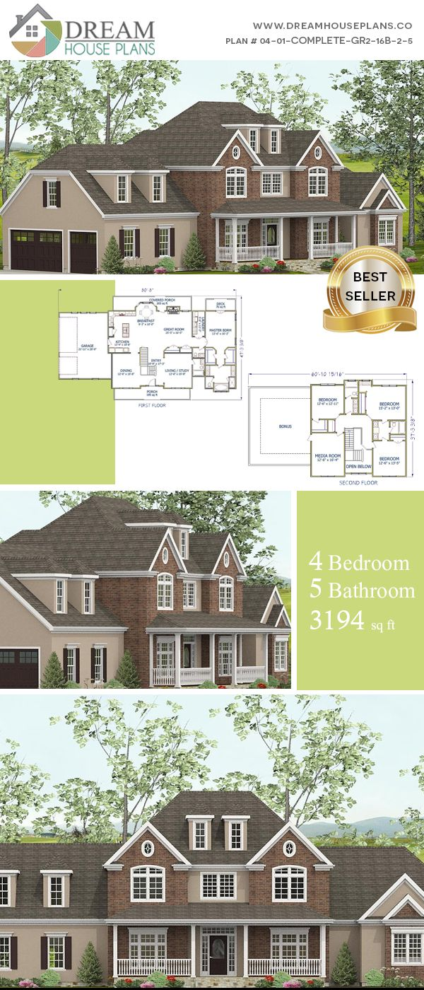 We have   of open floor house plans with  unique architecture design our exclusive also dream popular southern bedroom sq ft rh pinterest